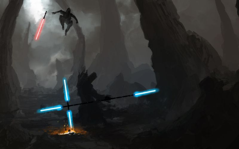 STAR WARS Knights Old Republic sci-fi futuristic action fighting warrior wallpaper