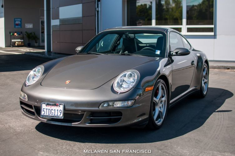 2006 Porsche 911 Carrera 4S coupe cars wallpaper