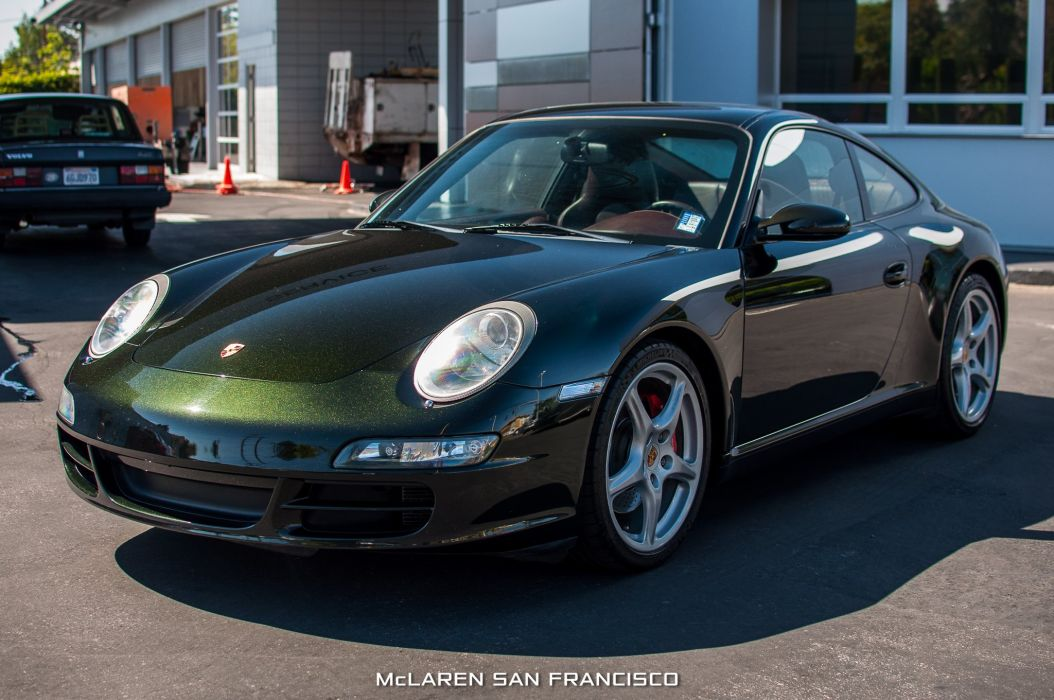 2006 porsche 911 carrera s coupe cars green wallpaper. Black Bedroom Furniture Sets. Home Design Ideas