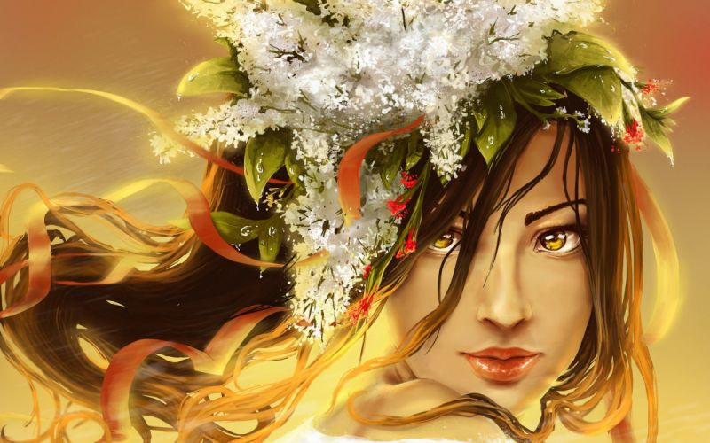 artistic art artwork women woman girl girls wallpaper