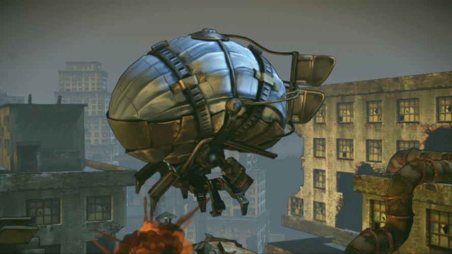 SHOOT MANY ROBOTS action shooter fighting sci-fi robot 1smr warrior wallpaper