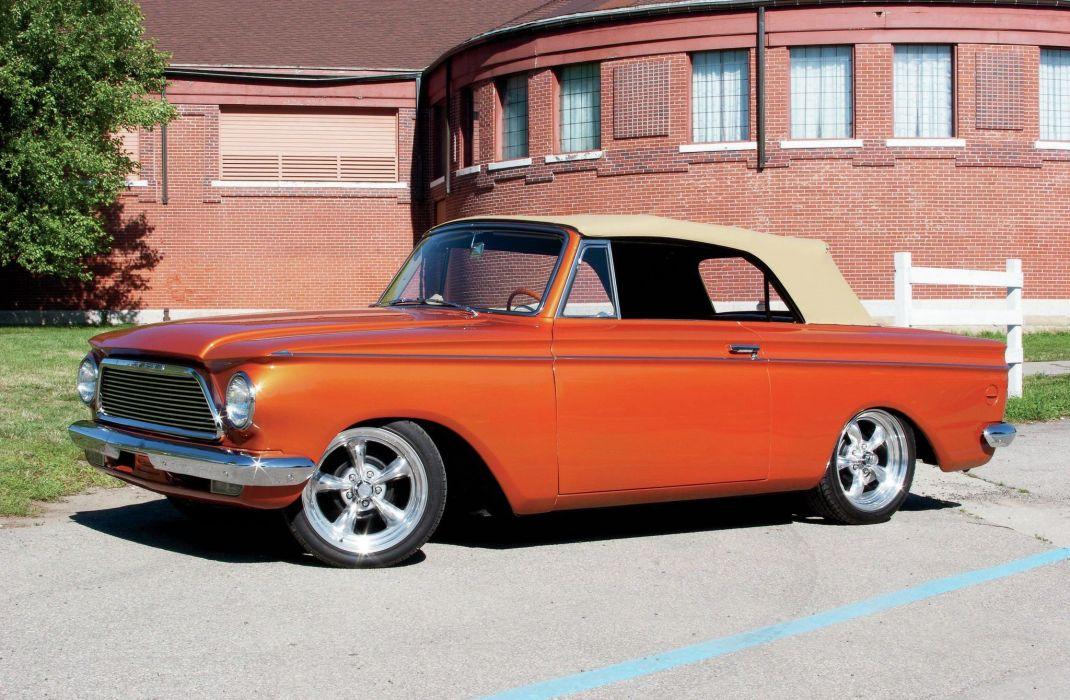 1961 AMC Rambler Convertible Streetrod Street Rod Cruiser USA 2048x1340 wallpaper