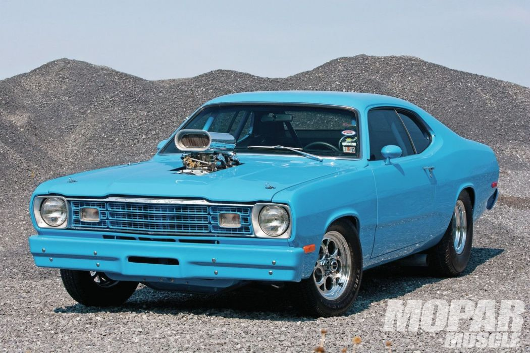 1974 Plymouth Duster Pro Street Drag Hot Rod USA 1500x1000-02 wallpaper