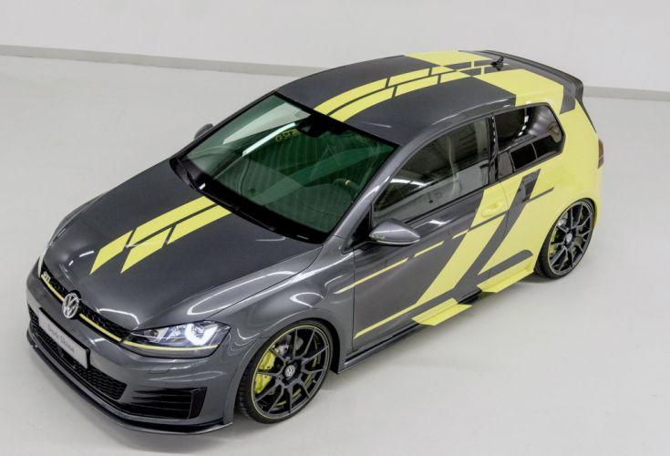 VW Golf GTI Dark Shine cars concept 2015 wallpaper