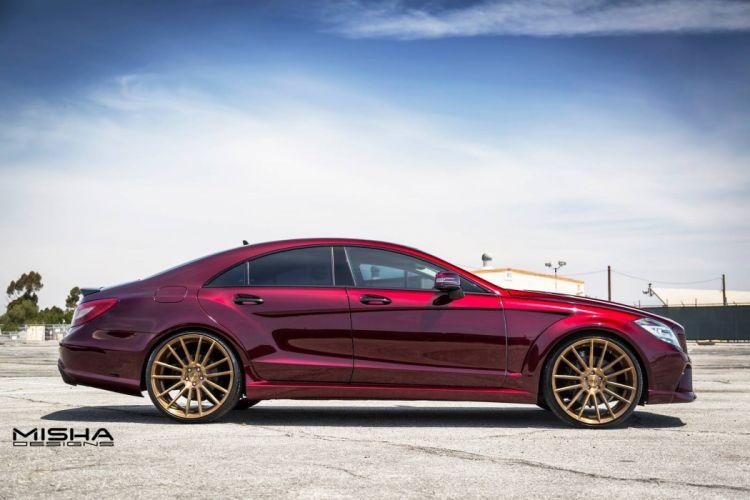 MISHA Designs Mercedes CLS cars tuning 2015 wallpaper