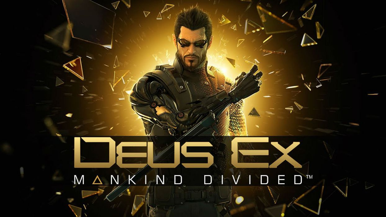 DEUS EX MANKIND DIVIDED cyberpunk action rpg fighting fps shooter tactical stealth 1demd warrior wallpaper
