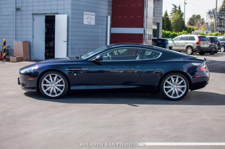 2005 Aston Martin DB9 cars coupe black wallpaper