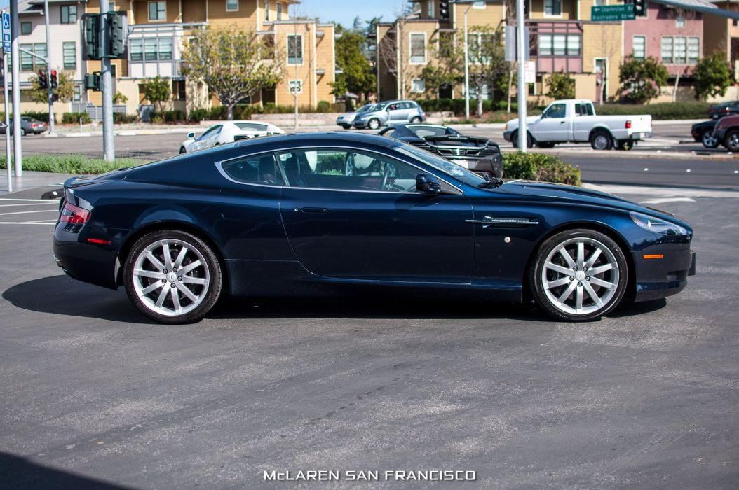 2005 Aston Martin DB9 cars coupe black wallpaper