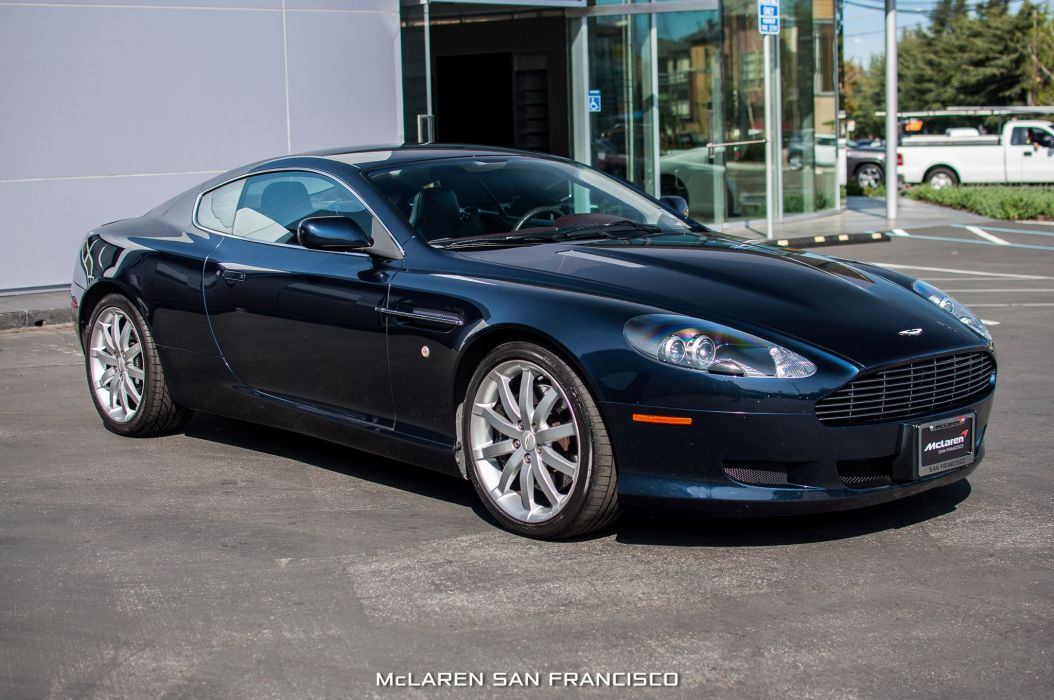 2005 Aston Martin Db9 Cars Coupe Black Wallpaper 2048x1360 687080 Wallpaperup