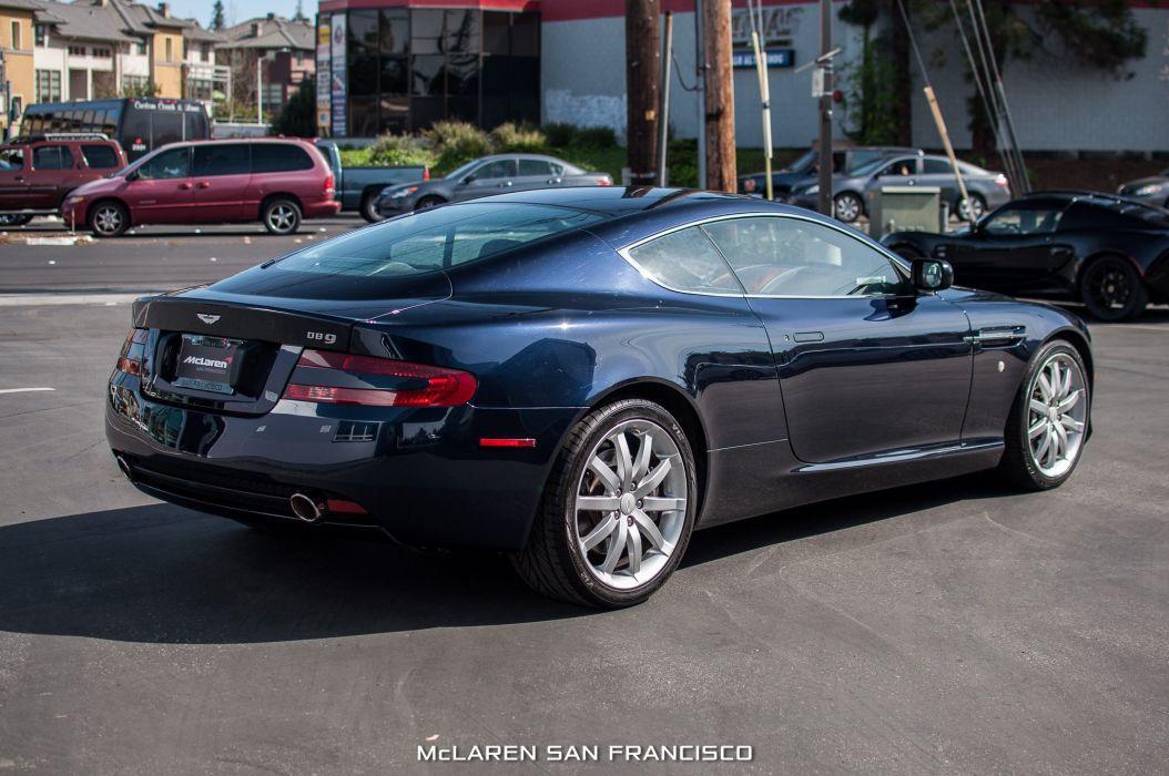 Aston Martin DB Cars Coupe Black Wallpaper X - 2005 aston martin db9