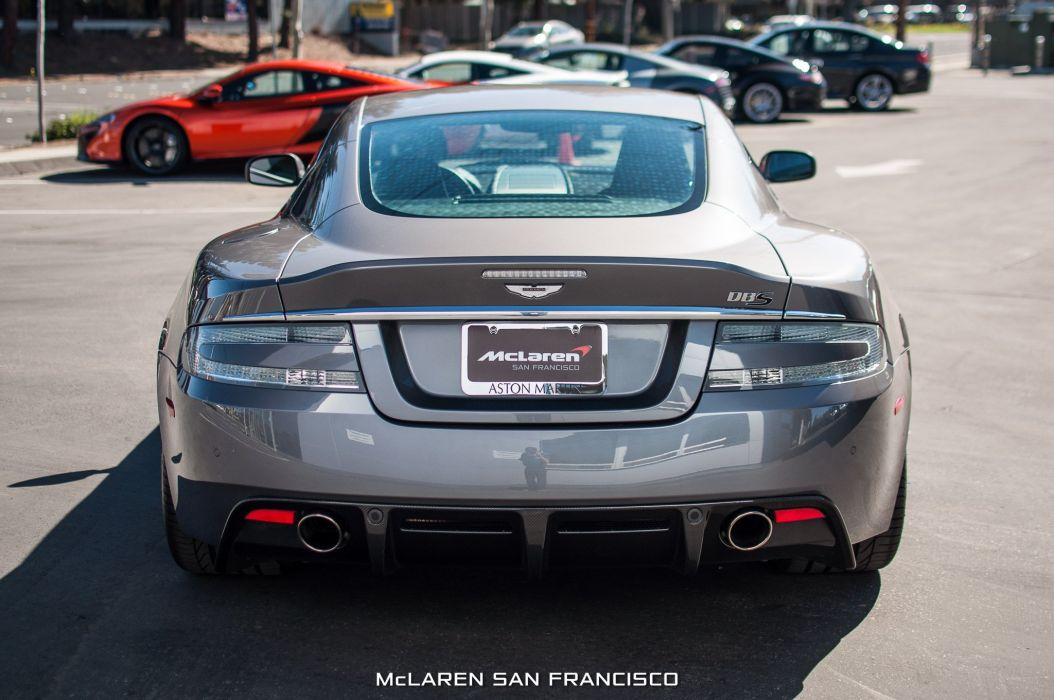 2009 Aston Martin DBS coupe cars wallpaper