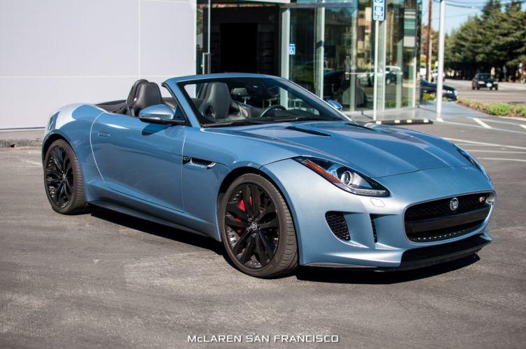 2014 Jaguar F-Type V8-S roadster cars wallpaper