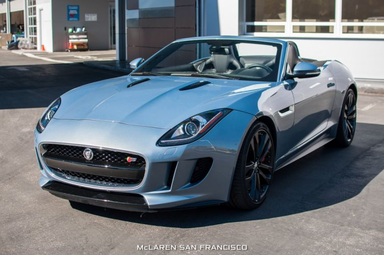 2014 Jaguar F-Type V8-S roadster cars wallpaper