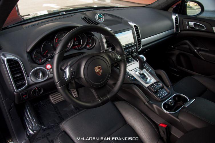 2014 Porsche Cayenne GTS black cars suv wallpaper