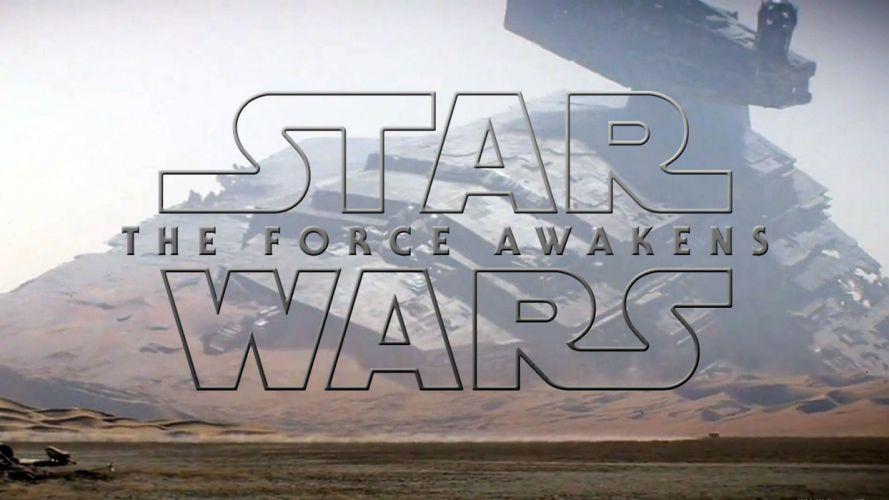 STAR WARS FORCE AWAKENS sci-fi adventure action futuristic 1star-wars-force-awakens disney spaceship wallpaper