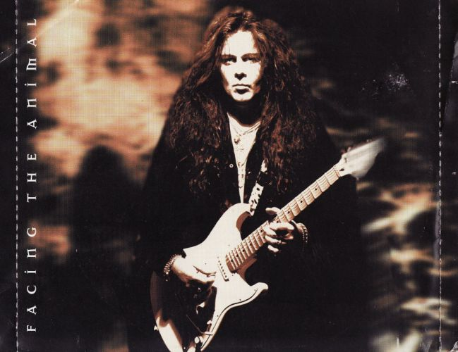 YNGWIE MALMSTEEN heavy metal guitar hair poster wallpaper