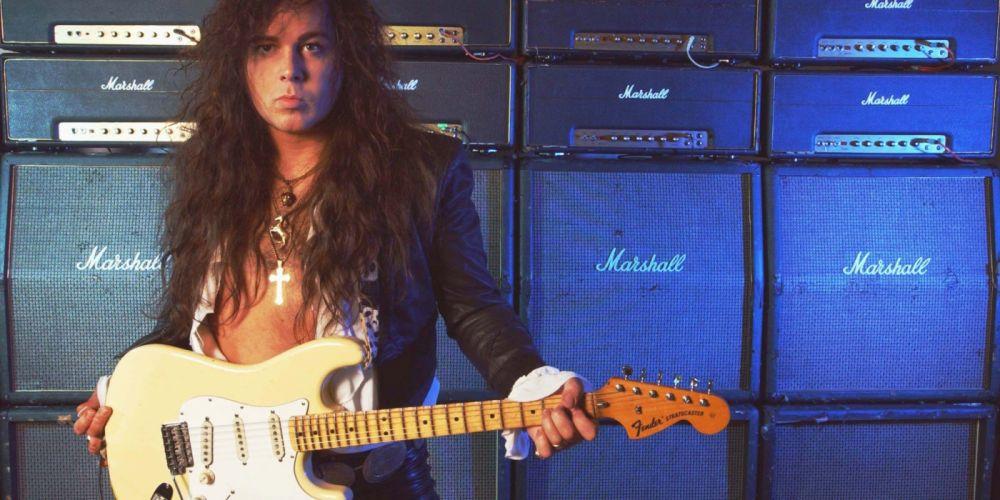 YNGWIE MALMSTEEN heavy metal guitar hair wallpaper