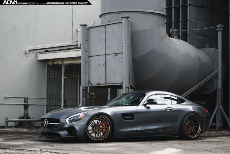 ADV 1 WHEELS MERCEDES BENZ AMG GT-S EDITION-1 coupe cars tuning white wallpaper