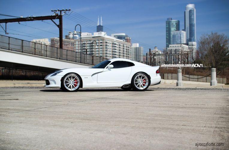 ADV 1 WHEELS Viper SRT cars tuning white wallpaper