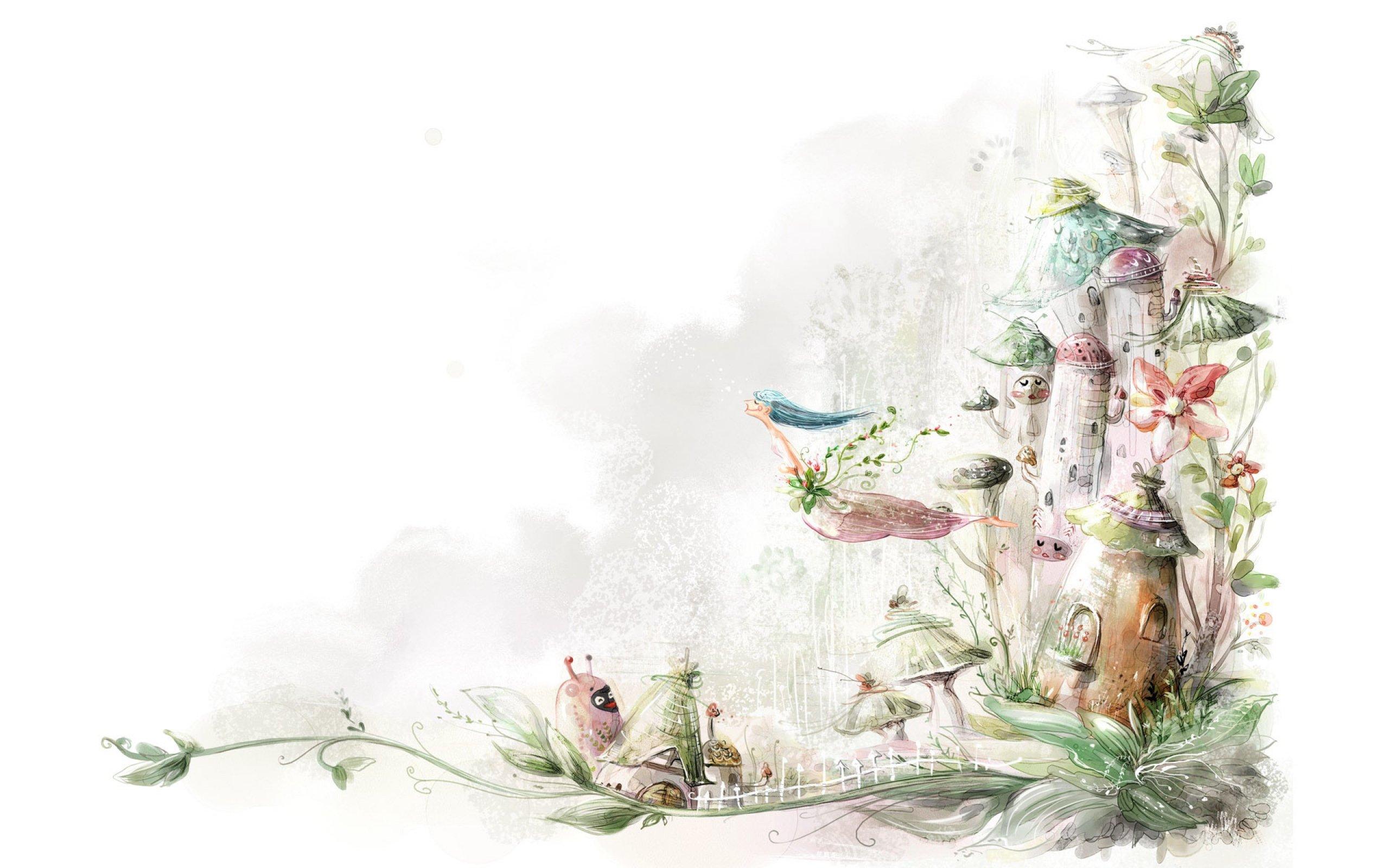 fairy tale powerpoint template free download - artistic art artwork painting original f wallpaper