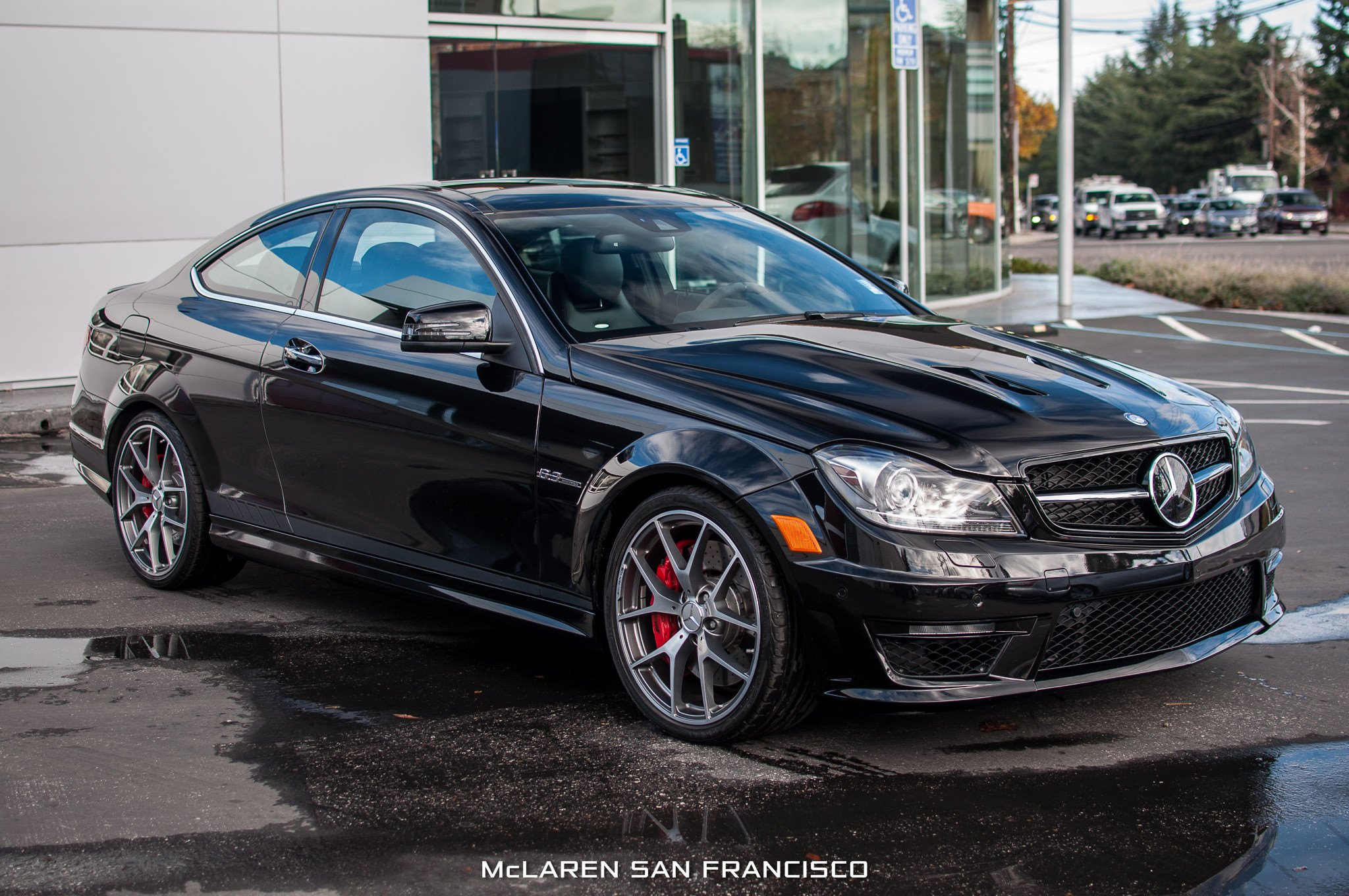2014 mercedes benz c63 amg edition 507 cars coupe black for Mercedes benz c63 amg edition 507