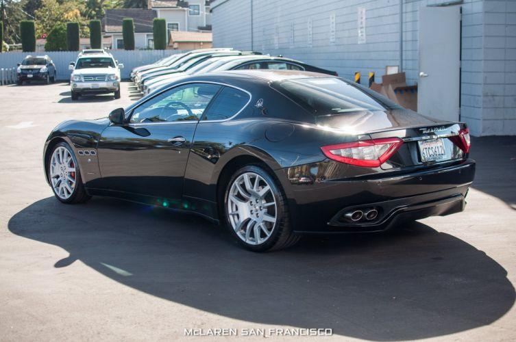 2009 Maserati Gran Turismo coupe cars black wallpaper