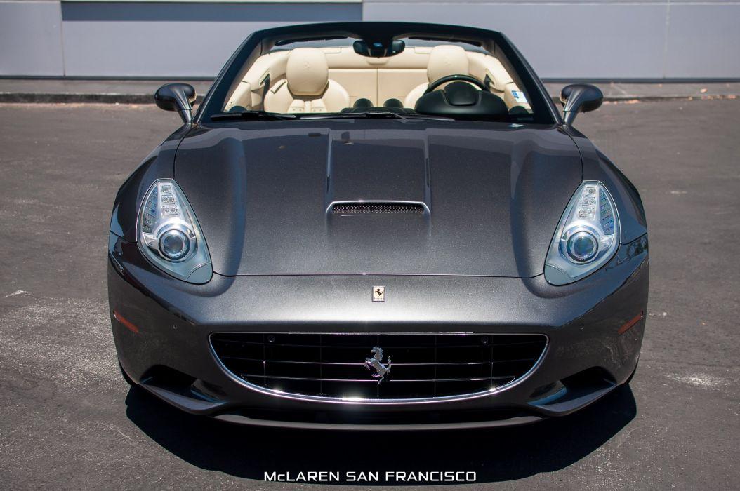 2010 Ferrari California convertible cars wallpaper