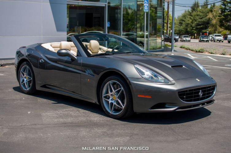 2010 Ferrari California convertible cars wallpaper
