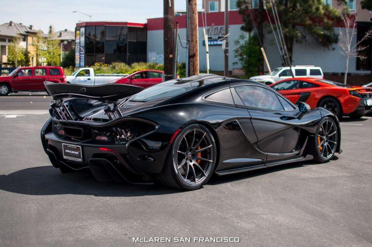 McLaren p 1 Supercar supercars cars black jet wallpaper
