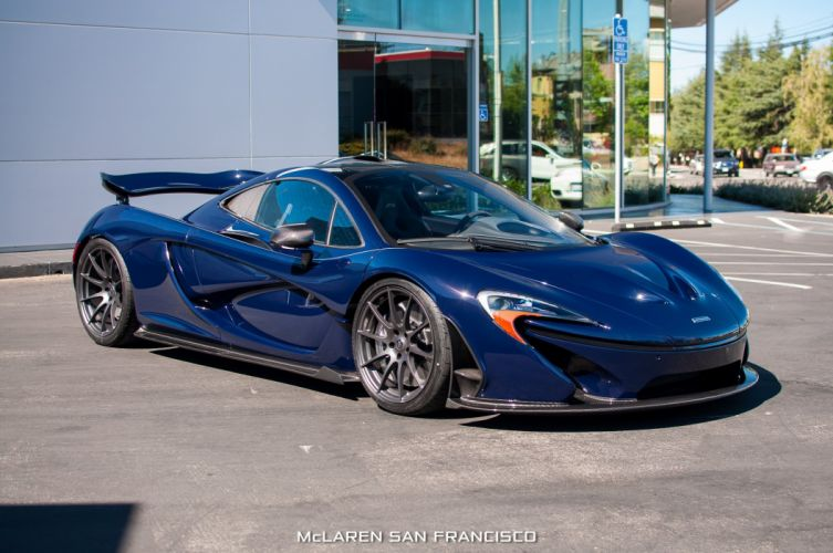 McLaren p 1 Supercar supercars cars blue wallpaper