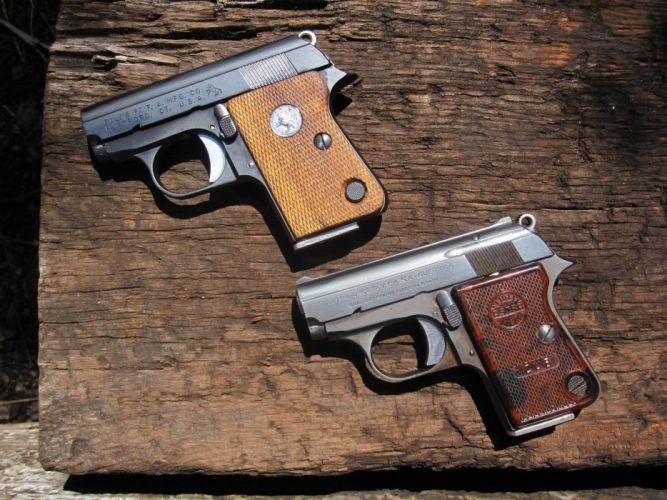 pistol gun weapon handgun military police wallpaper