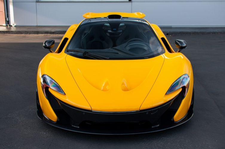 cars McLaren p 1 Supercar supercars Volcano Yellow wallpaper