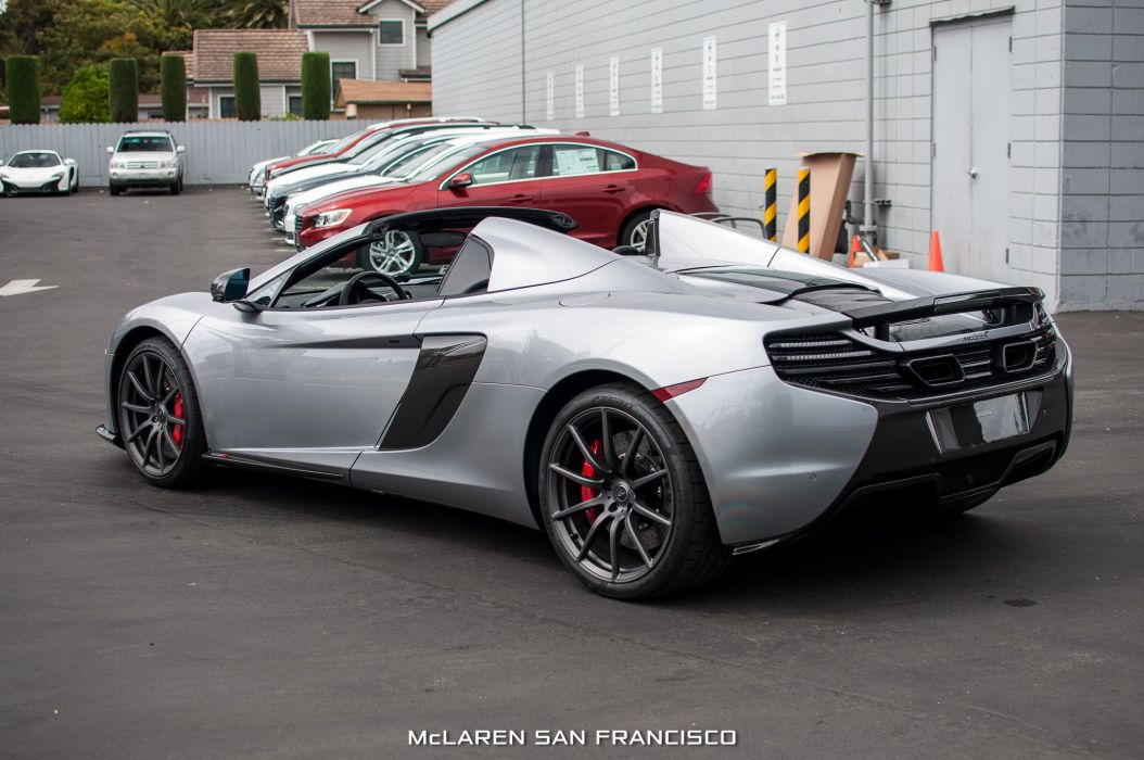 cars McLaren 650S Spider supercars Titanium Silver wallpaper