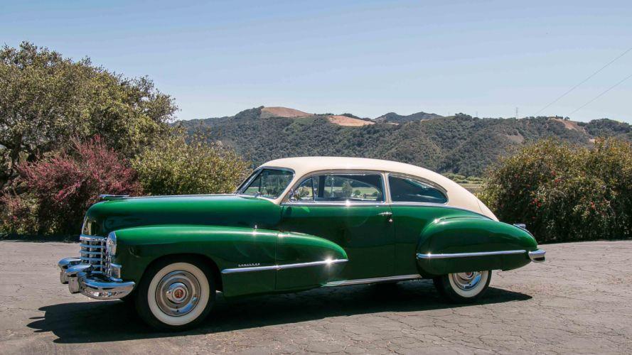 1946 Cadillac Series 62 Coupe Classic Old Retro Vintage Original USA -04 wallpaper