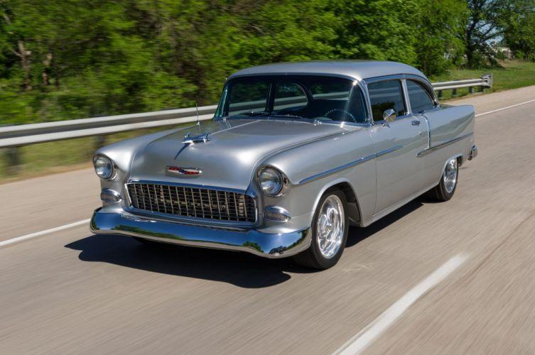 1955 Chevrolet Chevy Bel Air Streetrod Street Rod Cruiser USA-2048x1360-01 wallpaper