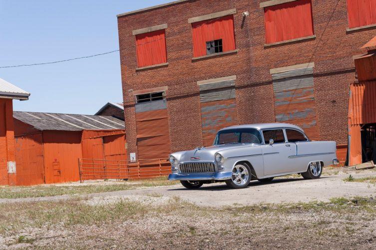 1955 Chevrolet Chevy Bel Air Streetrod Street Rod Cruiser USA-2048x1360-02 wallpaper