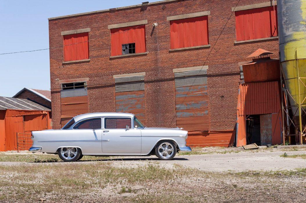 1955 Chevrolet Chevy Bel Air Streetrod Street Rod Cruiser USA-2048x1360-05 wallpaper