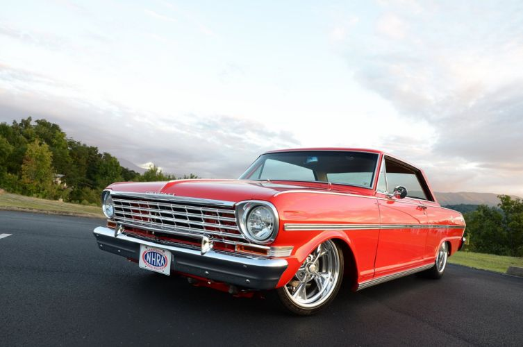 1963 Chevrolet Chevy Nova II SS Streetrod Street Rod Pro Touring Red USA-2048x1360-01 wallpaper