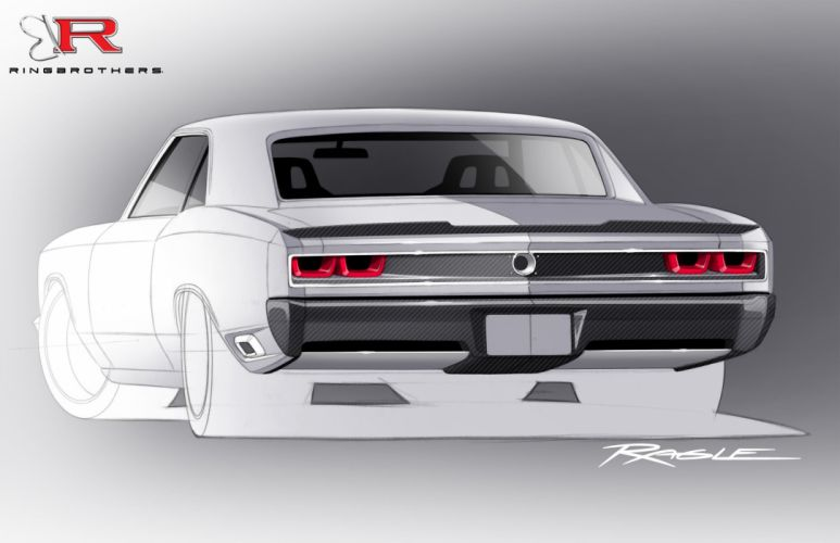 1966-Chevrolet Chevy Chevelle Recoil-Rendering Pro Touring USA 2550x1650-01 wallpaper