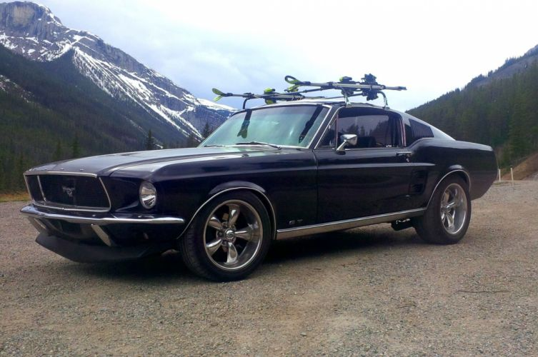 1967 Ford Mustang GT Fastback Muscle Streetrod Street Rod Pro Touring USA 2048x1360-03 wallpaper