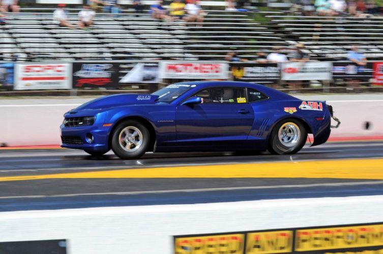 2013 Chevrolet Chevy Camaro Drag Dragster Race Racing USA 2048x1360 wallpaper