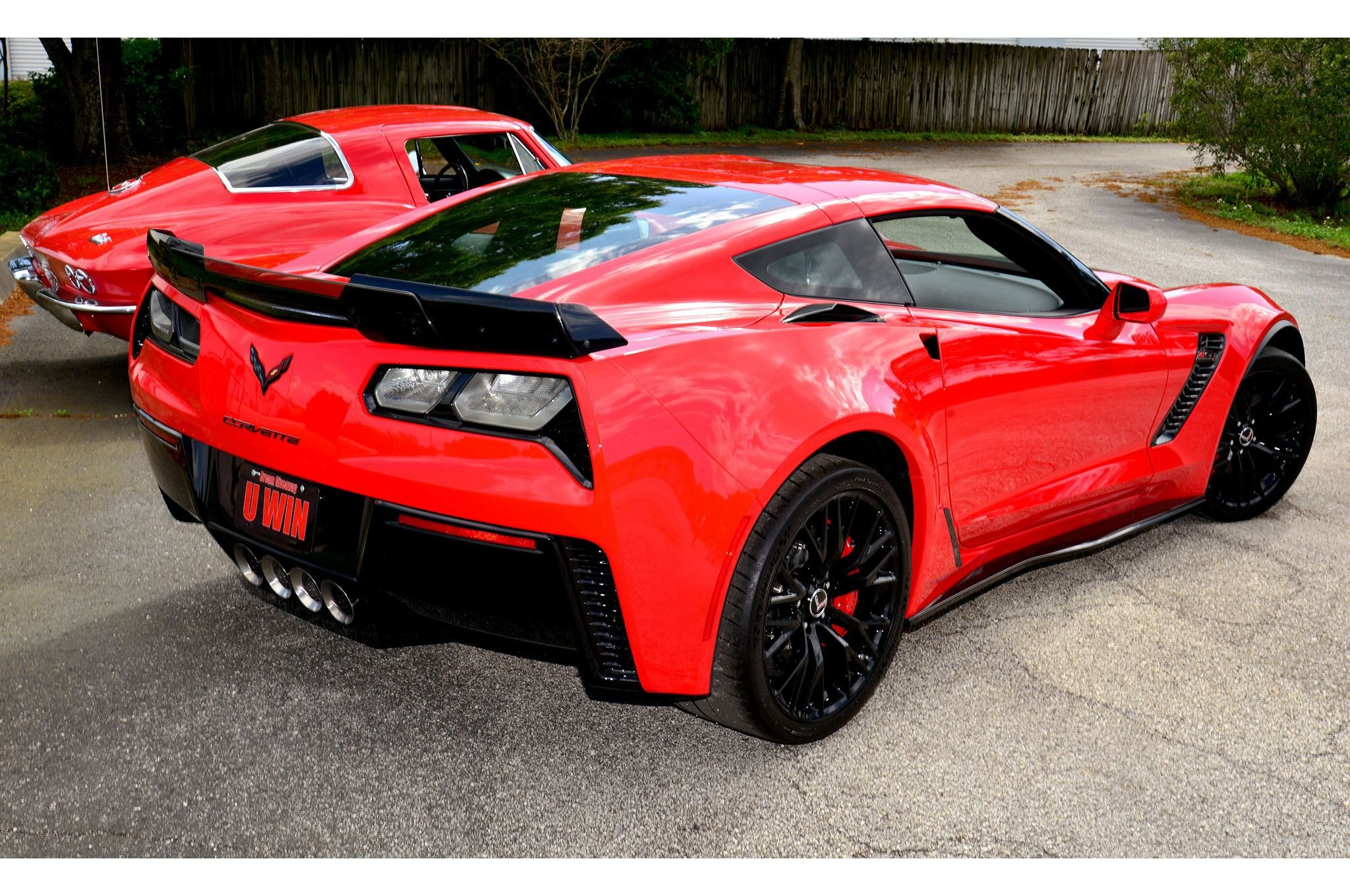 chevy corvette z06 muscle super car red usa 2048x1360 03 wallpaper 2015 corvette stingray - Corvette 2015 Z06 Red