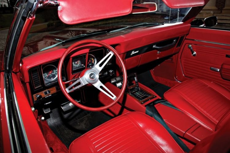 SS 350 Convertible cars red wallpaper