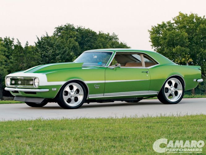 chevy chevrolet camaro mk1 coupe cars wallpaper
