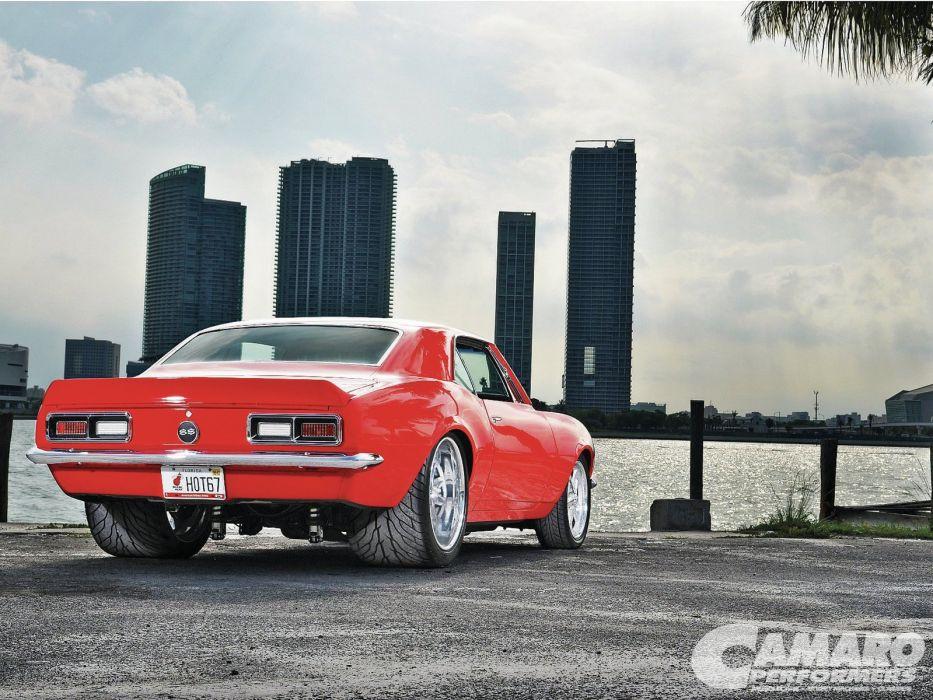 chevy chevrolet camaro mk1 coupe cars wallpaper
