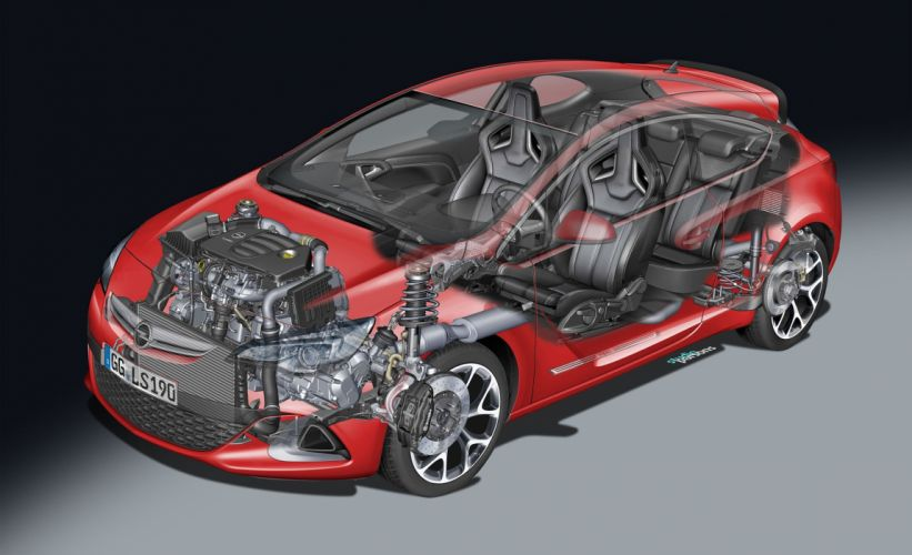 astra 2013 opel opc cutaway jpgy cars technical cutaway wallpaper