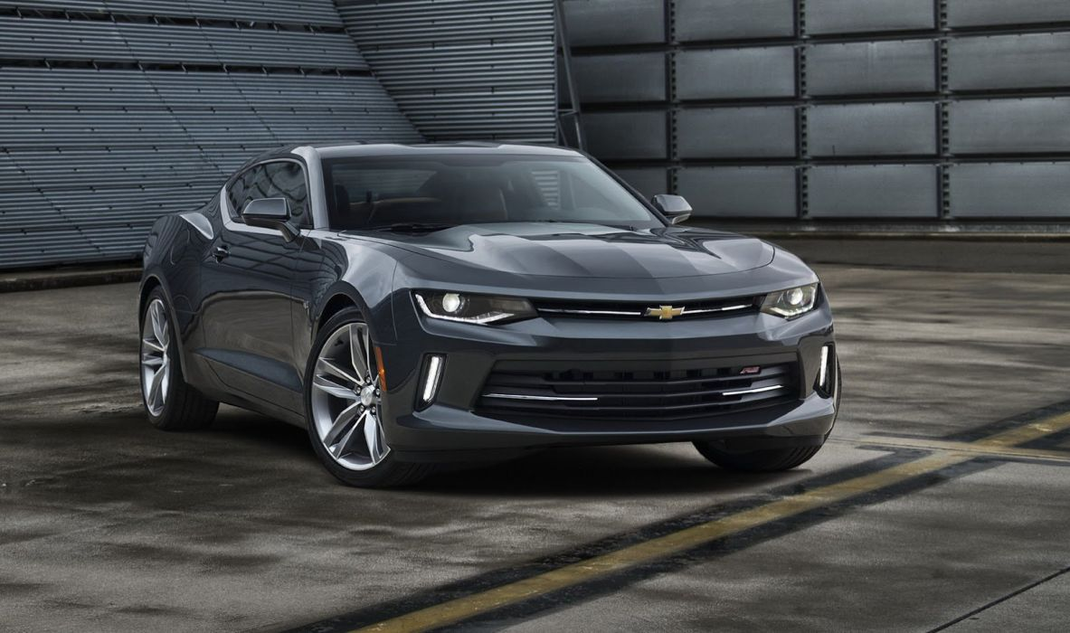 chevy chevrolet camaro coupe 2016 cars wallpaper