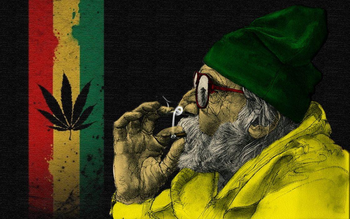 flag yamayki gandzha marihuana wallpaper