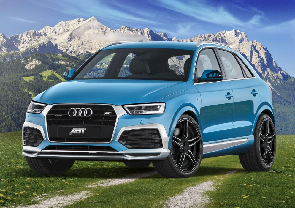 Audi-Q3 ABT Sportsline cars suv blue modified tuning wallpaper
