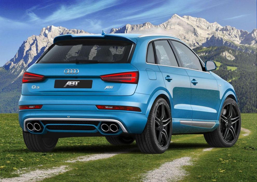 Audi-Q3 ABT Sportsline cars suv blue modified tuning wallpaper